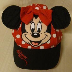 Disneyland Resort  Minnie Mouse Ear Hat Polka Dots